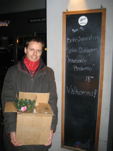 Sölve signerade på O'Learys i Helsingborg