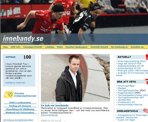 Artikel på innebandy.se