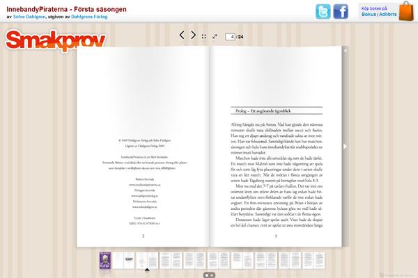 InnebandyPiraterna - bläddra i boken och läs de två första kapitlen...